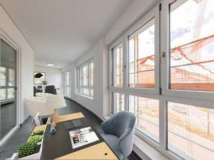 Große 2-Zimmer-Neubauwohnung mit Winterbalkon! Besichtigung ab sofort möglich!