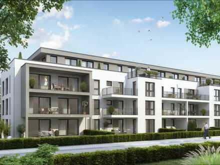 NEUBAU PROJEKT LEHRHÖFER HEIDE Ihr Logenplatz am Park in Hanau - Wolfgang 4 Zimmer + Balkon 1.OG
