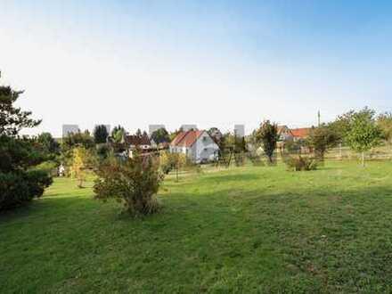 Freiraum in Feldrandlage: EFH auf ca. 3000 m² Grundstück mit Gästebungalow nahe Dresden