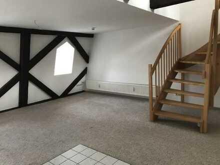 Geräumige 2-Zimmer-Maisonette-Wohnung in Burg