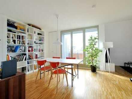 Neuwertige Dachgeschosswohnung mit Westloggia und inkl. Küche im Herzen von Krefeld - Bockum!