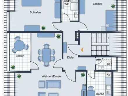 GIP IMMOBILIEN-Traumlage Sachsenhausen 3 Zi Wohnung 105qm 2 Bäder + EBK