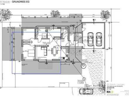 behindertengerechte, rollstuhlfähige, neue 3.5-Zi-Erdgeschoss-Wohnung mit EBK und Terrasse & Garten