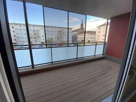 Erstbezug mit Süd-Balkon: exklusive 2-Zimmer-Wohnung in den Quadraten