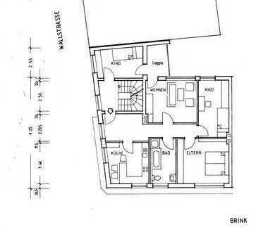 Helle 4 Zimmerwohnung mit Balkon