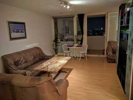 vollständig möblierte,gepflegte, 2-Zimmer Wohnung im Olympiadorf, Alpenblick, Provisionsfrei