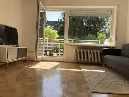 sonniges Apartment mit Balkon und Garten in Bestlage Solln, NK + Wlan inkl.