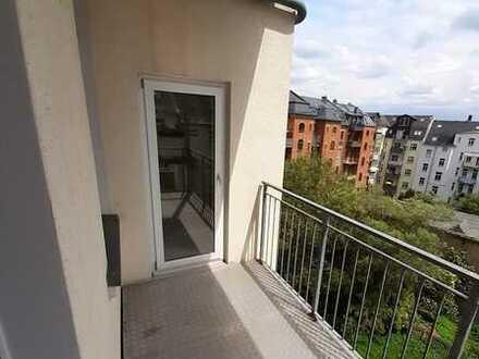 Toller Blick vom Balkon über Plauen *1 Monat mietfrei*