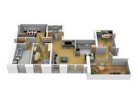 4- Zimmerwohnung mit Loggia, barrierefrei, Haus 7.1 Wohnung 41