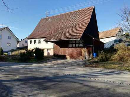 Bauplatz 6,72 ar in Haigerloch-Gruol, ohne Bauzwang mit Altbestand von privat zu verkaufen