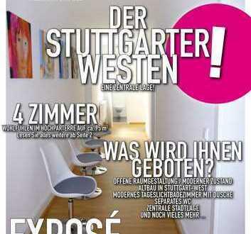 Altbau gepflegte Büroräume in Stuttgart-West! Wohnen und Arbeiten möglich!