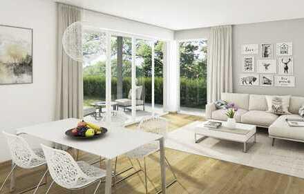 Die erste eigene Wohnung mit schönem Privatgarten