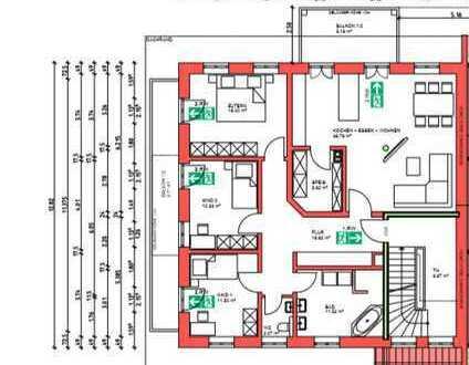 Neuwertige 6-Zimmer-Wohnung mit Balkon und Einbauküche in Irlham 2