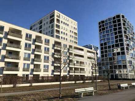 Stilvolle, neuwertige 2-Zimmer-Wohnung mit Balkon und EBK am Hirschgarten, München