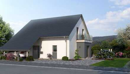 Bezauberndes Energiesparhaus mit großem Garten und freiem Blick !