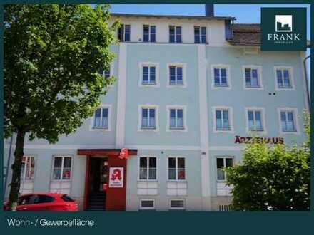 Schöne Büro-/ Praxisflächen in zentraler Lage im Ärztehaus in Lindenberg; Umstrukturierung möglich!