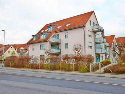 Provisionsfrei! - Vermietete 3-Zimmer-Wohnung mit Garagenstellplatz in Ebelsbach