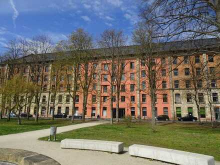 Möbliertes 1-Zimmer-Appartement in Bamberg, Erba Insel, direkt an der Uni,