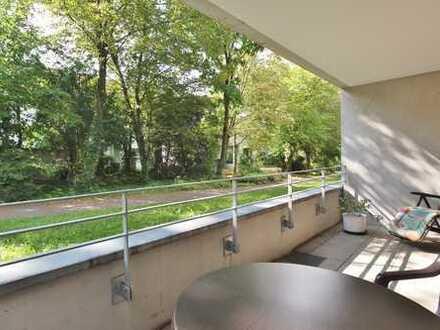 Seniorengerechte Zwei-Zimmer-Wohnung mit Balkon in S-Sonnenberg