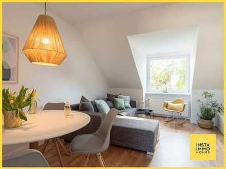 Hochwertig möblierte Dachgeschoß-Wohnung Nähe Uhlenhorster Kanal (WLAN inklusive)