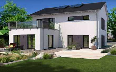 Luxuriöses Effizienz - Generationshaus mit Vollkeller