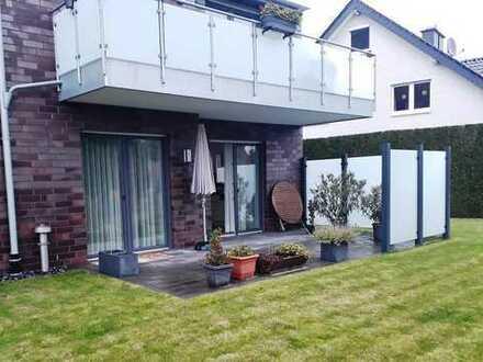 Barrierefreie 3-Zimmer-Wohnung mit Garten