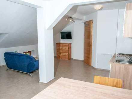 Gepflegtes voll möbliertes Appartement für Jedermann zw. Mühldorf und Altötting