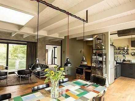 Extravagantes, möbliertes Designer Penthouse Maisonette mit Fahrstuhl u. mehreren Terrassen