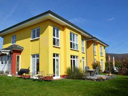 *HTR* Repräsentatives Anwesen mit einer Produktionshalle u. 2 mediterranen Wohnhäusern! Bj. 2001