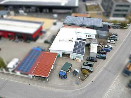 Produktionshalle in Bad Wurzacher Gewerbegebiet