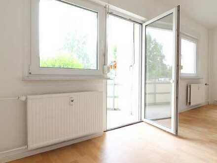 rollstuhlgeeignete 2-Raum-Wohnung mit Balkon