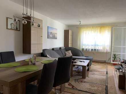 **NEU** attraktive 3-Zimmer-Wohnung im geliebten Wohnpark Werra Aue in Eisfeld. Tiefgarage, Balkon..