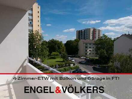 4-Zimmer-ETW mit Balkon und Garage in verkehrsgünstiger Lage von FT!