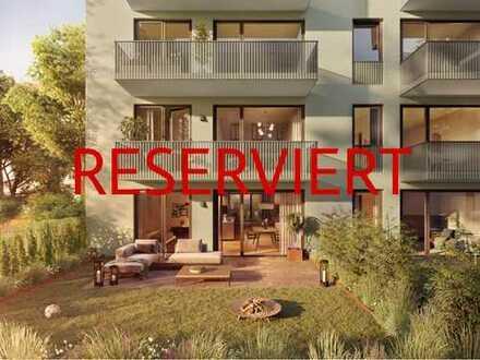 Großzügiges Wohnen mit zwei Terrassen und Privatgarten