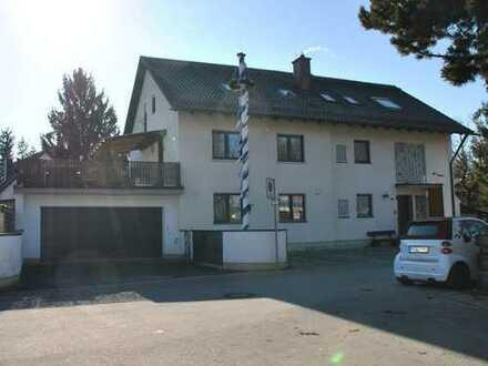 """""""IDYLLISCHE LAGE"""" + XXL-TERRASSE 50 m² + eigener GARTEN + 2 BALKONE + HOBBY-KELLER 37 m² + GARAGE"""