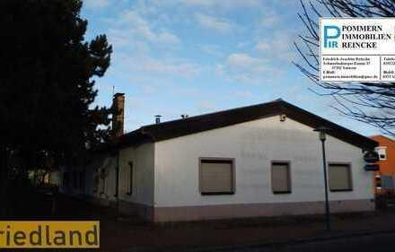 Fix und fertig eingerichtet in der Kleinstadt Friedland. Gaststätte mit Mobiliar!
