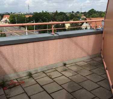 Büschdorf / kleine 1 Zimmer DG - Wohnung mit Balkon zu vermieten