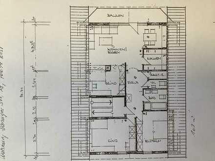 Helle, freundlichen3,5-Raum-Wohnung mit EBK und Balkon in Forst