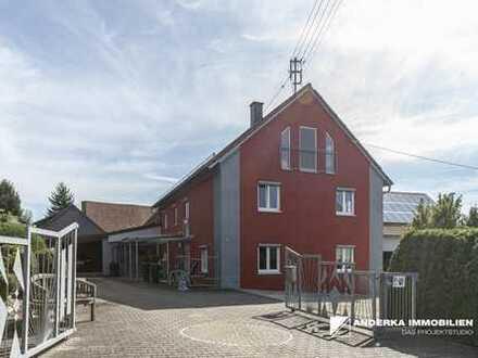 Top renoviertes Einfamilienhaus mit Lagerhalle in Kötz zu verkaufen!