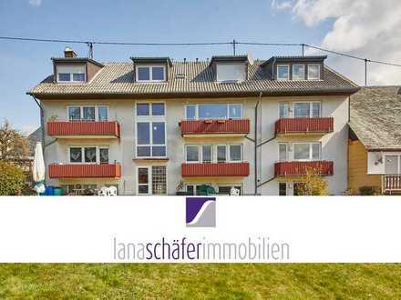 -Erstbezug- 3-Zi.-Wohnung mit Balkon und Gartenmitbenutzung