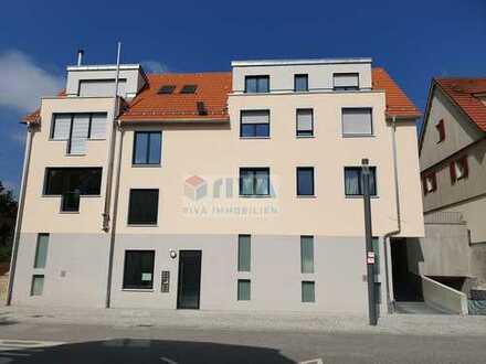 Schicke 4,5-Zi-Neubau-EG/OG-Wohnung - barrierefrei - in der Ortsmitte von Winterbach zu verkaufen