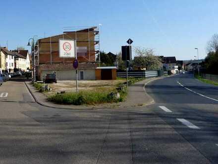 Werbewirksames Eckgrundstück an der B45 Sinsheim-Hoffenheim als Ausstellungsfläche