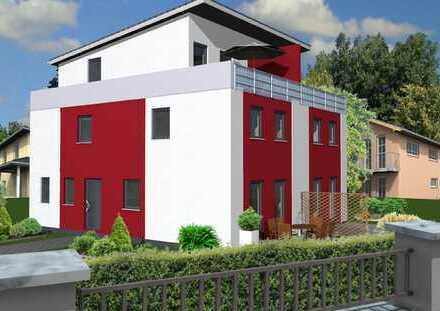 NEUBAU-Doppelhaushälfte mit Keller, Bauen ohne Bauträgerrisiko!
