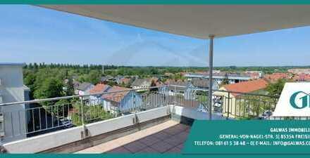 GI ** 3-Zi.-Penthouse-Whg.! Sonnig wohnen über den Dächern Oberschleißheims
