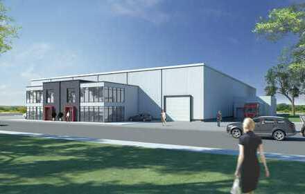 Modulare multifunkti. Produktions- u. Lagerhallen für Mittelstand und Kleingewerbe Teilbar ab 750m²