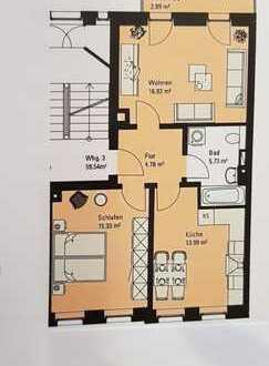 Provisionsfrei und frisch renoviert 2,5-Zimmer-Wohnung mit Balkon in Gohlis-Süd