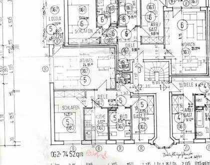 Wurde Reserviert! Buxtehude Süd, Eckdahl 92, Gepflegte 3-Zimmer-Wohnung mit Einbauküche und Balkon