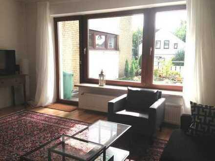 Schönes Reihenendhaus mit fünf Zimmern und Garten in Vegesack, Bremen