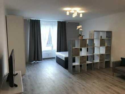 Exklusive 1-Zimmer-Wohnung mit Einbauküche in Düsseldorf GOLZHEIM