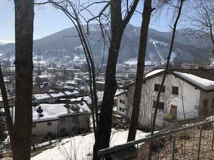 Baugrundstück mit Blick in die Berge